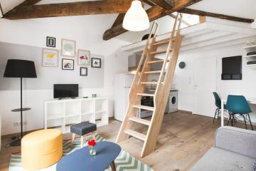 T1 studio of Marechal Joffre 1 Nantes apartments Nantes